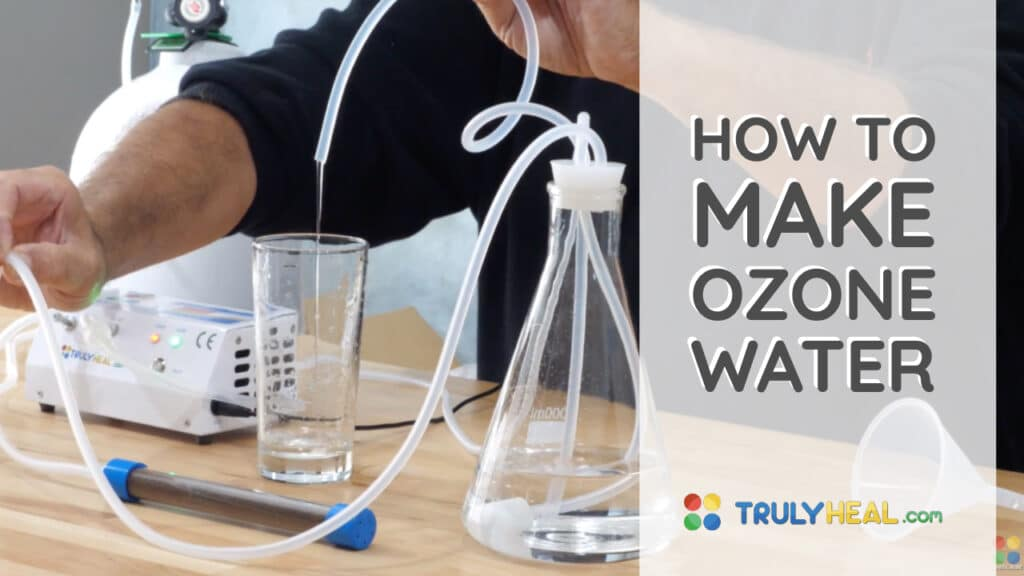 How To Make Ozone Water By O3 Academy