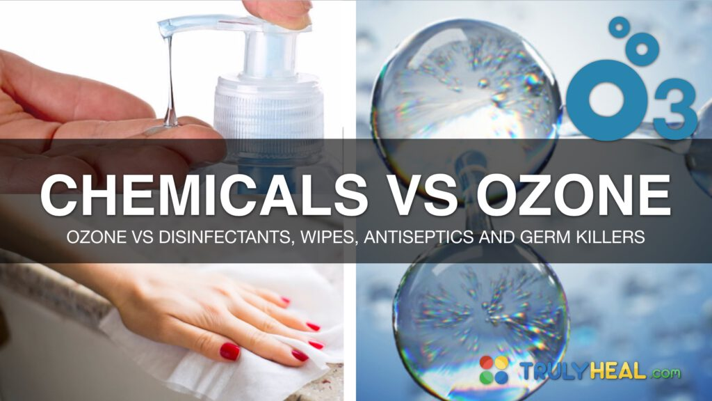 Chemicals Vs Ozone Using Ozone Water Instead Of Toxic